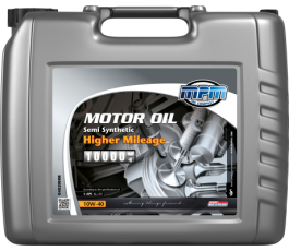 Motorolie 10w40 higher mileage