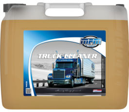 Vrachtwagen shampoo