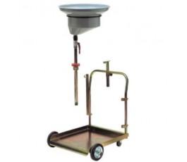 Drumdolly met olie-opvangschaal 200 liter