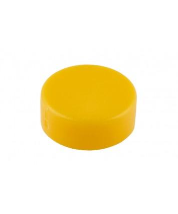 Kentekenplaatschroef afdekkap kleur geel - 50 stuks