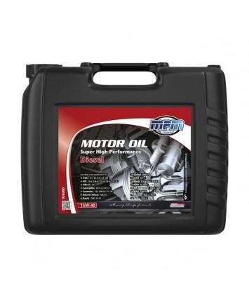 Motorolie 15w40 super high performance diesel