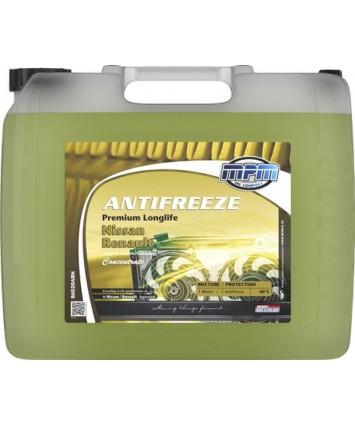 Antivries silicaat vrij kleur geel