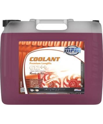 Koelvloeistof -40C rood G12++ silicaat houdend