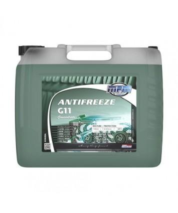 Antivries G11 silicaat houdend kleur groen