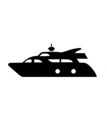 Motorboot trim en stuur olie