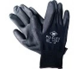 M-safe handschoen Pu-flex zwart pp maat 8