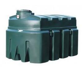 Kunststof brandstof tank inhoud 1200 liter kiwa gekeurd