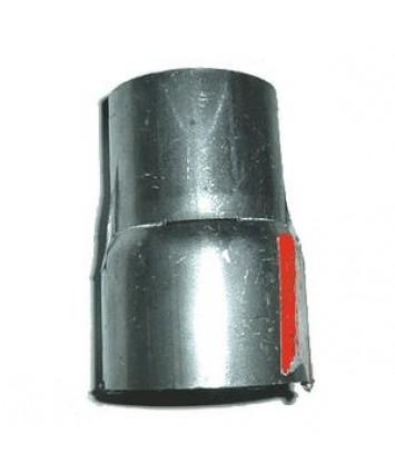 Uitlaat verloopstuk 65 mm inwendig / 60 mm uitwendig